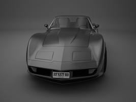 Chevrolet Corvette 1982 No.8 by sxela