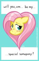Fluttershy's Special Somepony by TexasUberAlles