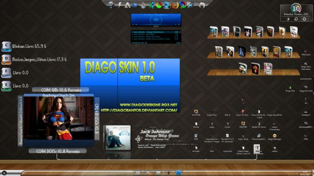 Diago Skin Darck Blue by DiagoSantos