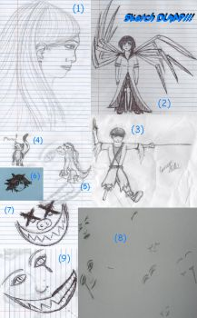 SKETCH DUMP!!!!!!!!!!!!!!! by iCrave4Anime
