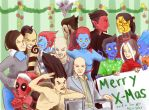 Merry X-Mas! from The Wagners by KittiNygma