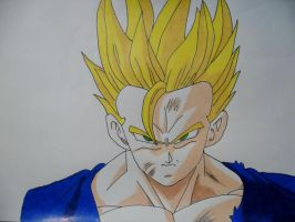 Super Saiyan two Gohan by DarkGamer2011