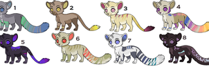New adopts july by Sacredfire200