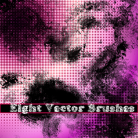 Eight Vector Brushes by glomdi