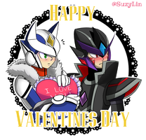Happy Valentine [Over-2 and Nero] by SuzyLin