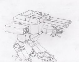 Mecha Artillery by Imperator-Zor