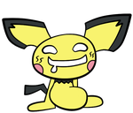 Pichu. HURR by chewymoogle
