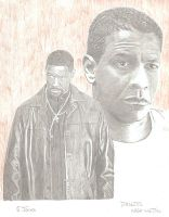Denzel Washington by eazy101