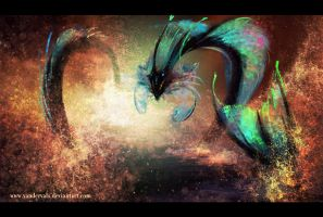 Sea serpent by vandervals
