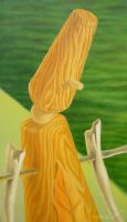 Pegs: Four Seasons-detail 8 by LaDell