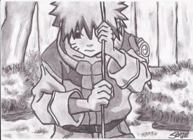 sad little naruto... by SharinganSage