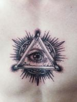 All Seeing Eye Tattoo by mumitrold