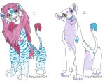Crystarium Lion Adoptables 1 by KoyukitoriGirl