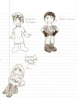 Dr. Horrible Chibis by Shinigami-Acorn