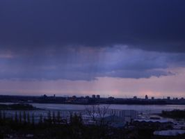 Stormy city by Kayleigh-Kaz