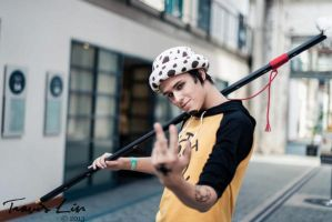 Trafalgar Law Cosplay by Wh1plash