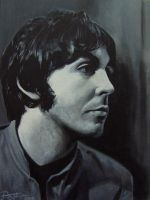 Paul McCartney by drawmyface