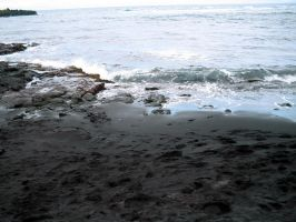 Black Sand by CRStock
