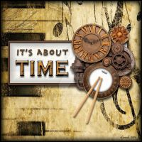 It's About Time (ALBUM ART) by 12CArt