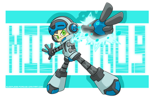Mighty No. 9! by Sleepless-Piro