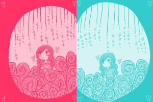 Two Colors by Hi3ei