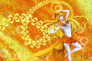 Sailor Moulin Rouge Venus by Heart-tsukikage