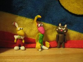 Dynamite Headdy Characters by BaronThunder
