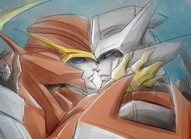 Drift and Roddy by Aiuke
