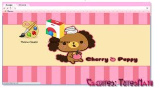Puppy Cherry TN [Theme Google] by TutosNatiSUB