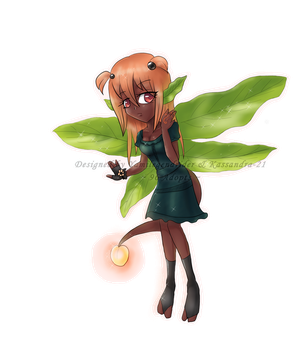 Peach Fairy  #1 - Mystery Seedling by 96-Adopts