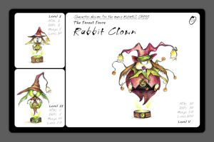 the Rabbit Clown by Tung-Monster