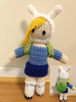 Adventure Time Fionna by Bleached-Black63