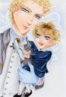 Father and Son: Zeke and Heath by Khallandra