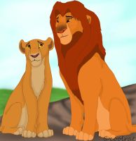 kiara and simba by coolrat