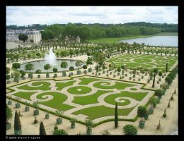 Gardens of Versailles by SylviaDraws