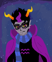 Eridan Iscribble by PrinceofSpirits