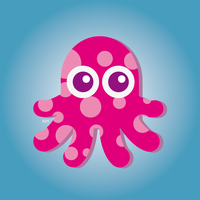 pink octopus by szndsgn