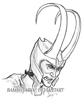 Tom Hiddleston - Loki  0001 by bambistark