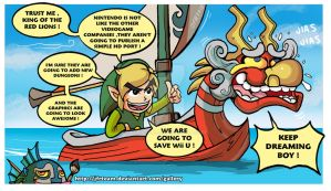 The Legend of Zelda : The Wind Waker HD by JFRteam