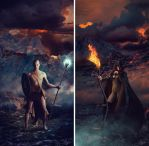 Battle of Fire and Ice by JaiMcFerran