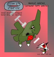 Jonah the Larvitar Colored by HeartlessHunter13