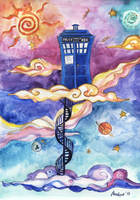 TARDIS by mushyak-gone-wild