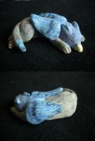 Salt Dough Blue Griffin by soyrwoo