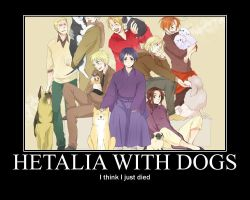 Hetalia with Dogs by tacomama18