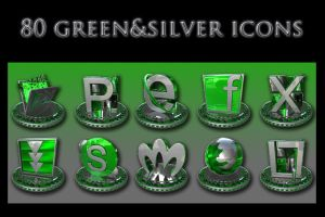 green and silver collection by xylomon