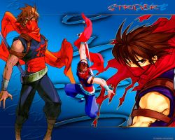 Strider Hiryu by yingjow