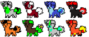 Adopts #4 -Open- by Furry-Adopts576