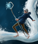 RotG: Winter is coming. :Jack Frost by nightmarez0mbie