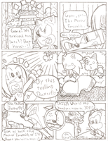 SoniComic page 13 Pencils by FritzyBeat