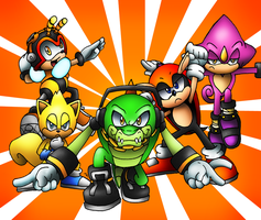 Chaotix Force GO!!! by SonicKnight007